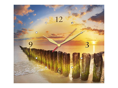 kalendarz trójdzielny z zegarem Bałtyk