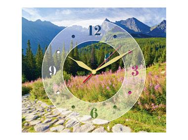 kalendarz trójdzielny z zegarem Górska hala