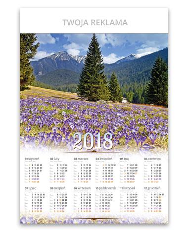 kalendarz plakatowy B1 Dolina Chochołowska