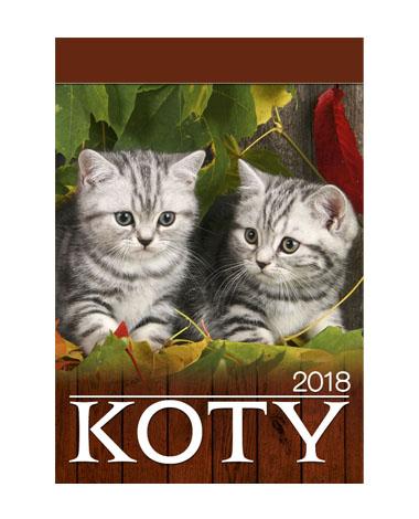 kalendarz wieloplanszowy Koty