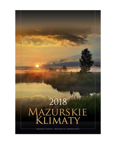 kalendarz wieloplanszowy Mazurskie klimaty