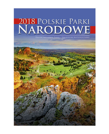 kalendarz wieloplanszowy Polskie parki narodowe