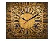 kalendarze jednodzielne z zegarem - Antyczny