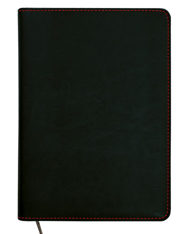 kalendarz reklamowy w wymienna oprawą w kolorze czarnym