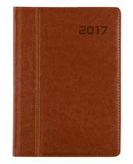 kalendarz ksiażkowy A4 - brąz