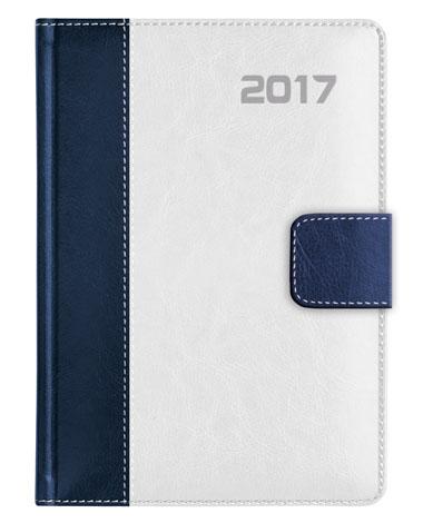 kalendarz książkowy A5 z zapieciem na magnes