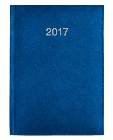 kalendarz ksiązkowy - niebieski - kalendarz dla firm