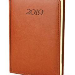 Kalendarz książkowy Elegant - jasnybrąz
