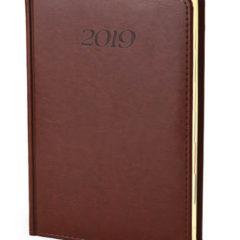 Kalendarz książkowy Elegant - brąz