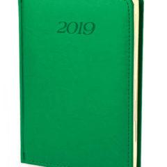 Kalendarz książkowy Elegant - jasnazieleń
