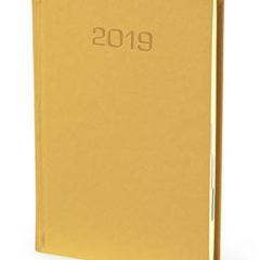 Kalendarz książkowy Nadir - złoty