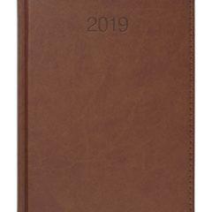 Kalendarz książkowy Vivela jasnobrązowy