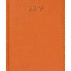 Kalendarz książkowy Vivela pomarańczowy