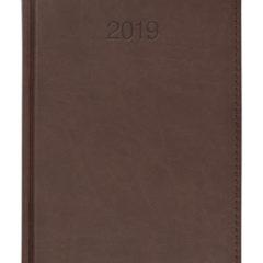 Kalendarz książkowy Vivela brązowy