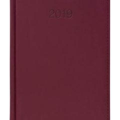 Kalendarz książkowy Vivela bordowy