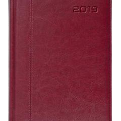 Kalendarz książkowy Nero bordowy