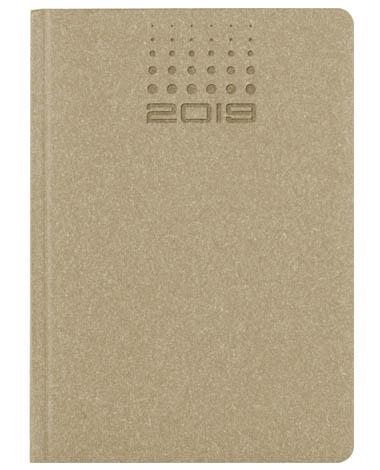 Kalendarz książkowy Natural - beżowy