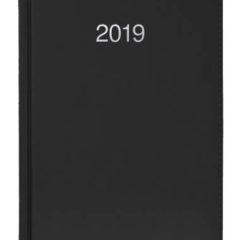 Kalendarz książkowy Krono - czarny