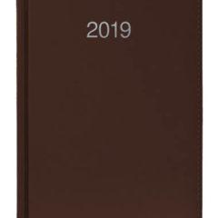 Kalendarz książkowy Krono - brązowy