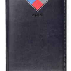 Kalendarz książkowy Combo Triangle - czarny