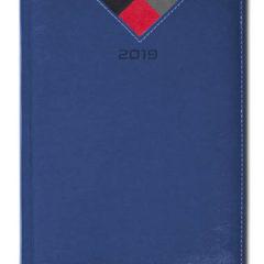 Kalendarz książkowy Combo Triangle - granatowy