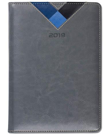 Kalendarz książkowy Combo Triangle - szary