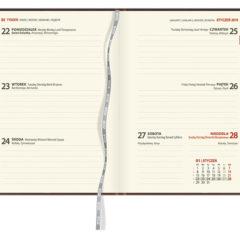 Blok kalendarza - A6 tygodniowy