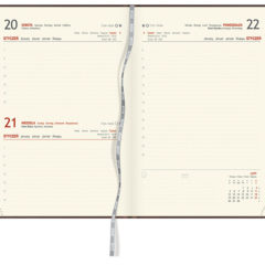Blok kalendarza - A5 dzienny z registarmi