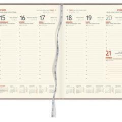 Blok kalendarza - A4 tygodniowy z registrami