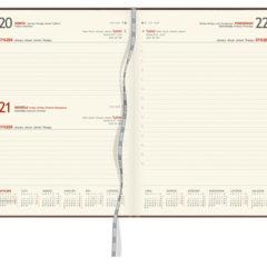 Blok kalendarza - A4 dzienny z registrami