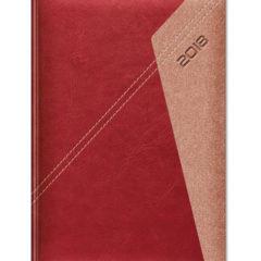 Kalendarz książkowy Yuta Koperta P - bordowy