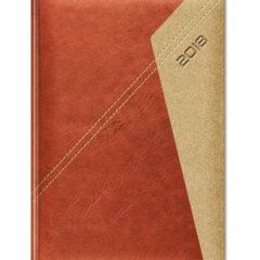 Kalendarz książkowy Yuta Koperta P - jasny brąz