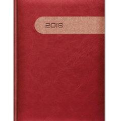 kalendarz książkowy Yuta Duo - czerwony