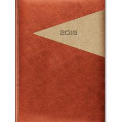 kalendarz książkowy Yuta Trójkąt - jasny brąz