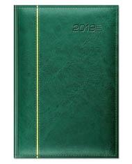 kalendarze książkowe z cienkim paskiem ozdobnym