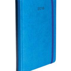 Kalendarz książkowy Zig-zag niebiesko-granatowy