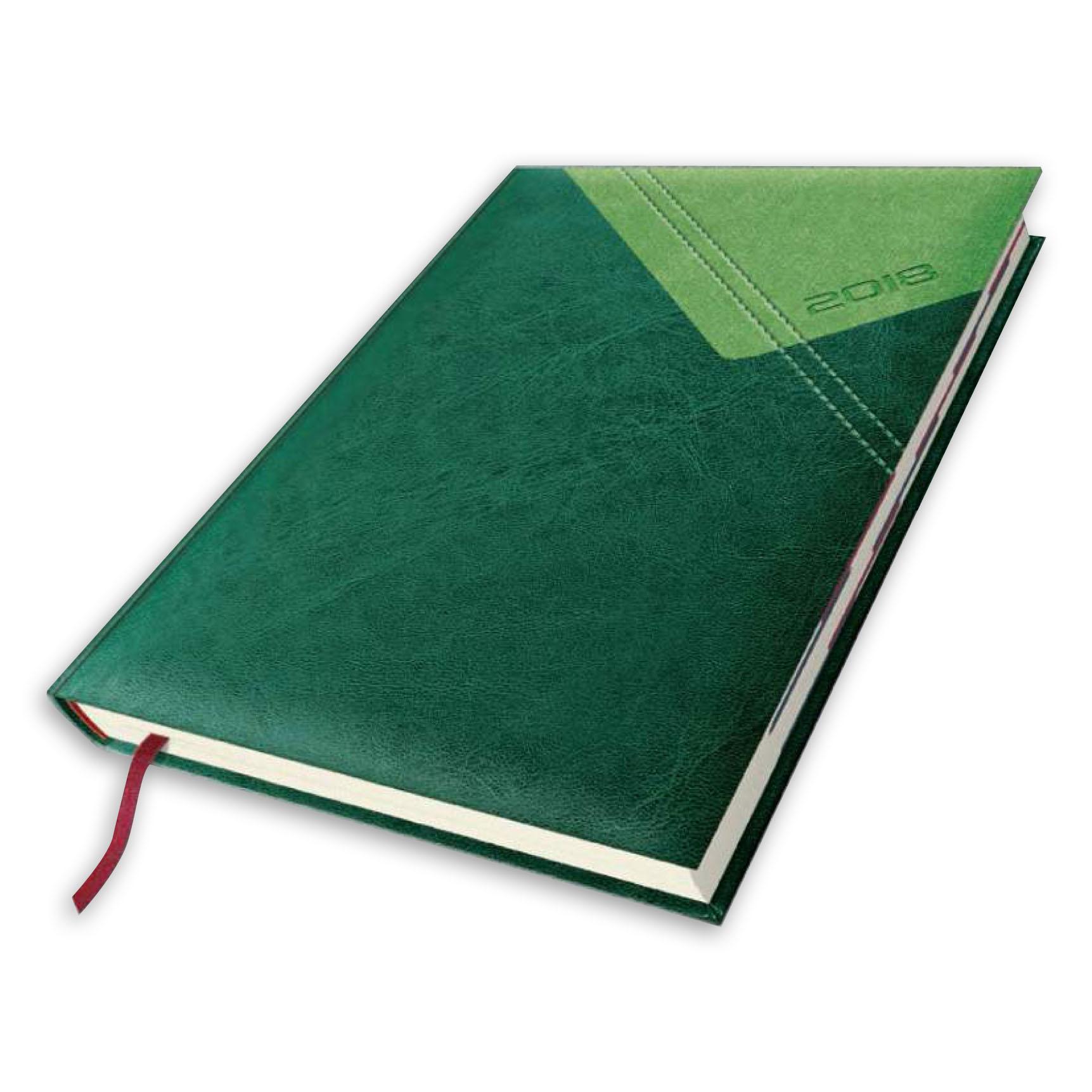 kalwndarz książkowy Yuta fala zielony