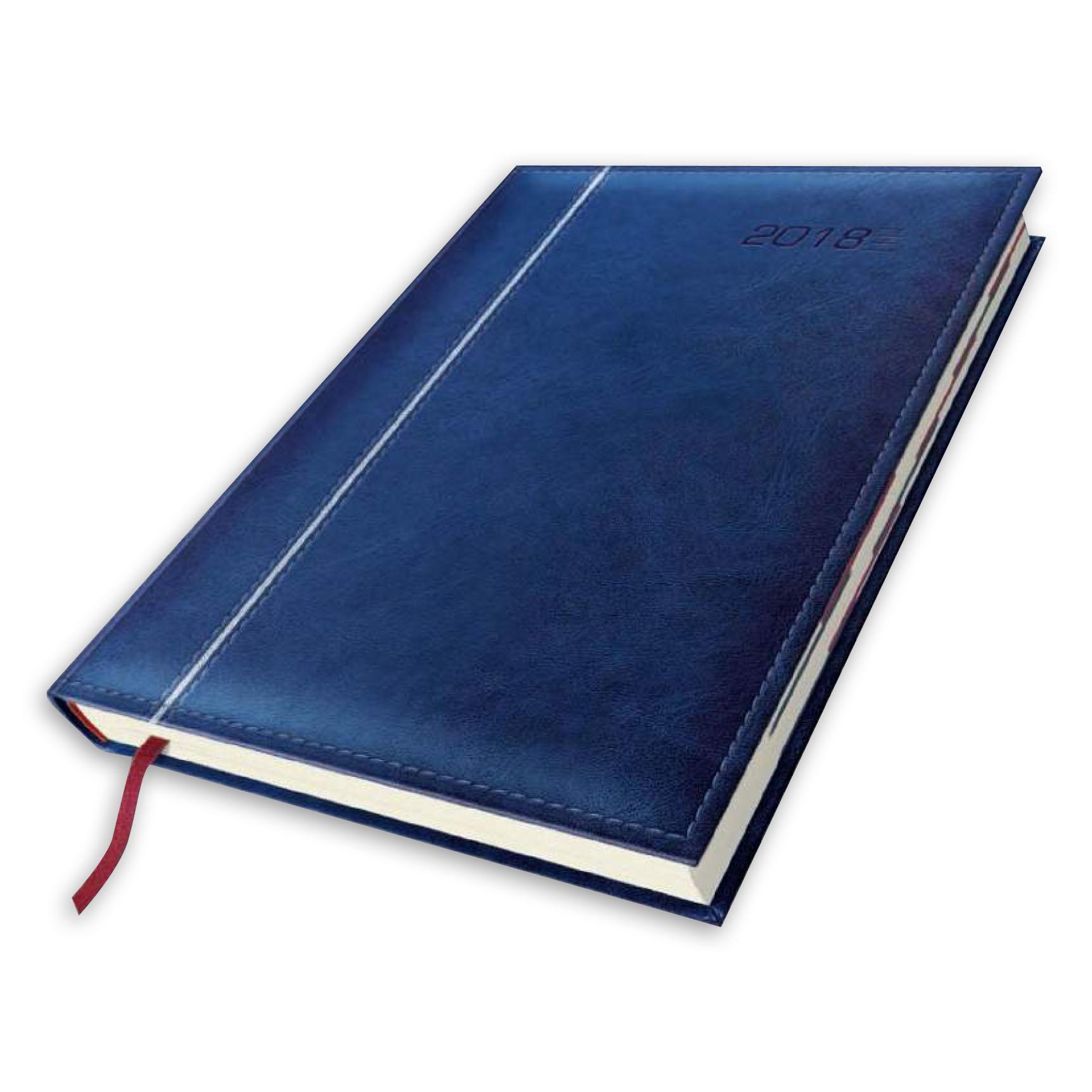 kalendarz książkowy z cienkim paskiem