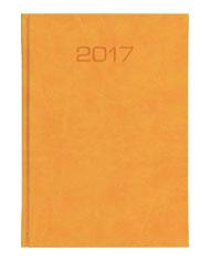 kalendarz ksiażkowy oprawa vivela classic A5 - zółta
