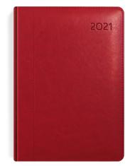 kalendarze ksiażkowe A4 bordowy