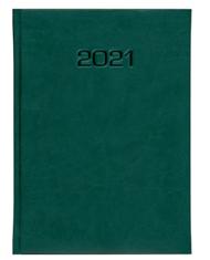 kalendarz książkowy zieolony