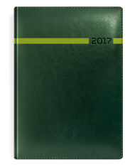 kalendarze-ksiazkowe-zielen-z-przeszyciem