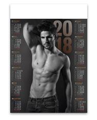 kalendarze plakakatowe A1 Man