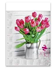 kalendarze plakatowe A1 Bukiet kwiatów