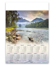 kalendarze plakatowe A1 Pieniny