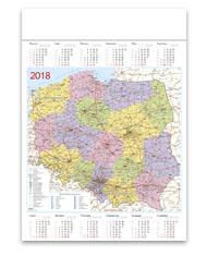 kalendarze plakatowe A1 Polska