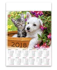 kalendarze plakatowe A1 Przyjaciele