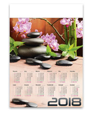 kalendarze plakatowe A1 Zen