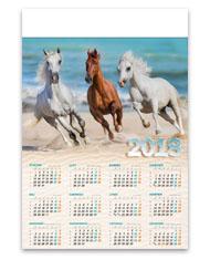 kalendarze plakatowe B1 Konie