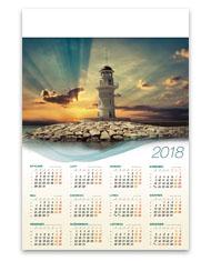 kalendarze plakatowe B1 Latarnia morska